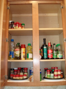 Evelyn H. Cluttered Kitchen Cabinet After 2