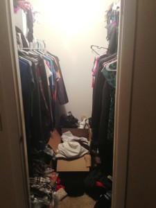 M.W Bedroom Closet BEFORE